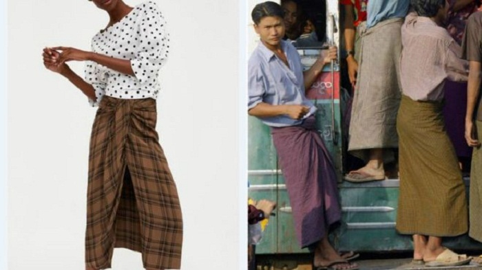 Zara's lungi lookalike mocked by Asian internet