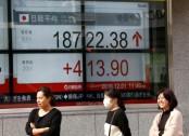 Asian stocks mixed after Wall Street's sharp decline