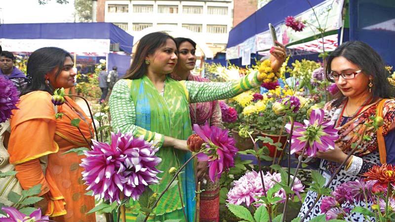 4-day flower fair begins in Rajshahi