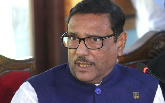 BNP itself levels Begum Zia corrupted changing party constitution, says Obaidul Quader