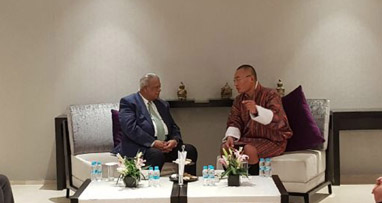 Bhutanese Prime Minister for importing more drugs from Bangladesh