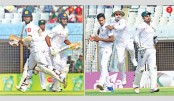 Tigers trampled under Lankan batting