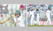 Tigers struggle to save maiden Test