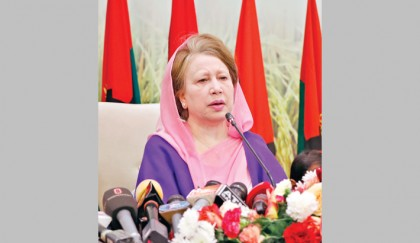 Face any crisis unitedly, Khaleda asks party men