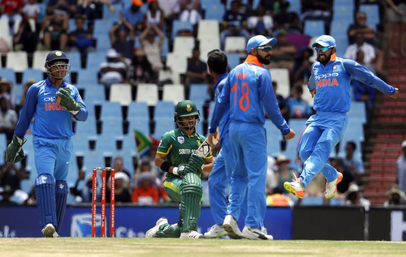 India crushes South Africa by 9 wickets in 2nd ODI