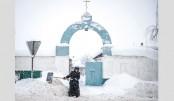 Moscow snowfall sets 100-year record