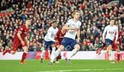 Centurion Kane saves Spurs in late drama at Liverpool