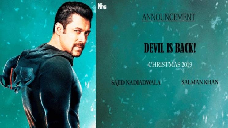Salman's 'Kick 2' is set to hit screens on Christmas 2019