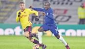 Watford wreak havoc on Chelsea