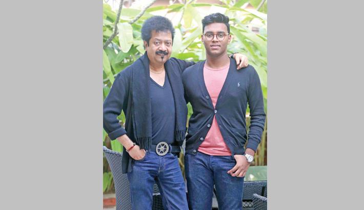Nibir directs music video of his father Kumar Bishwajit