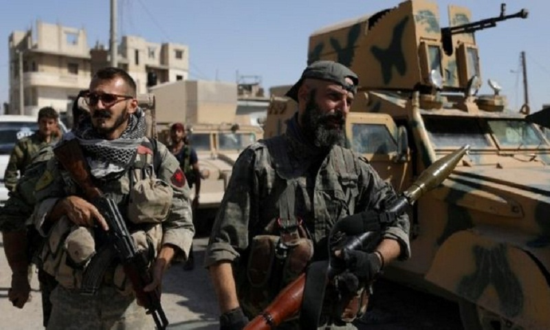 Syria conflict: US in rare counter-strike after Deir al-Zour attack