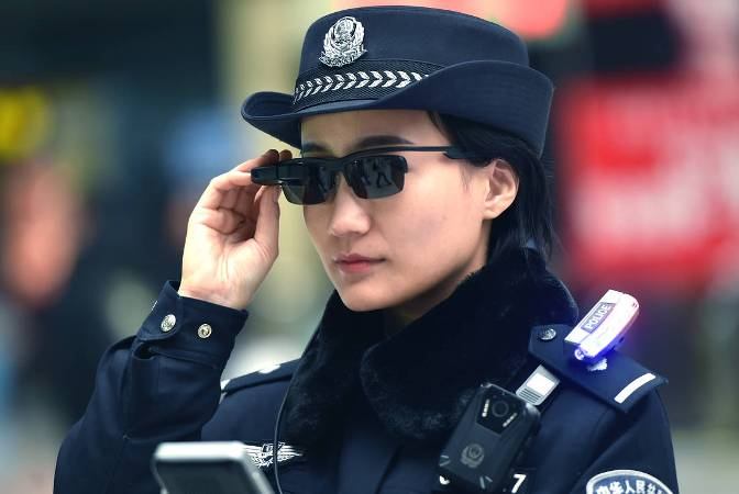 Police in China are wearing facial-recognition glasses