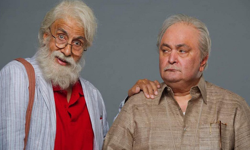 Amitabh Bachchan and Rishi Kapoor starrer 102 Not Out trailer unveiled