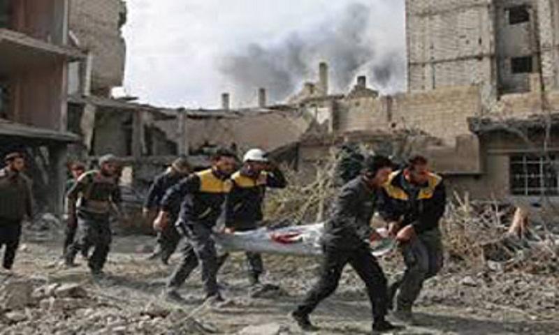 Death toll tops 220 in four-day regime assault on Syria rebel enclave