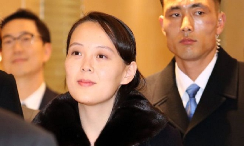 Kim Jong-un's sister Yo-jong in S Korea for Olympics