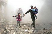 100 killed in US-led strikes on Syrian pro-govt forces