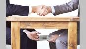 Bribe: An Open  But Shameful Secret