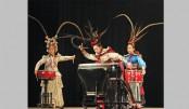 Chinese Drum Art Troupe Mesmerises Dhaka Audience