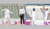 Bangladesh spinners perplex Lankans