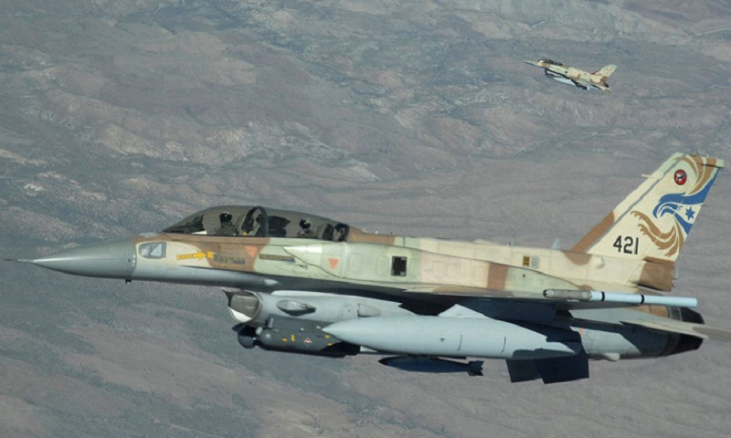 Israeli fighter jet crashes during strikes against Iranian targets in Syria