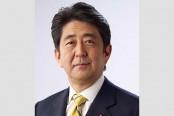 Abe, Moon vow to improve Japan-South Korea ties