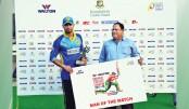Mashrafe stars in  Abahani victory