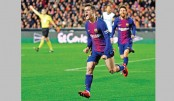 Coutinho scores as Barca reach Copa final