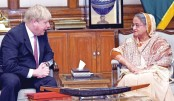 British minister  for quick return  of Rohingyas