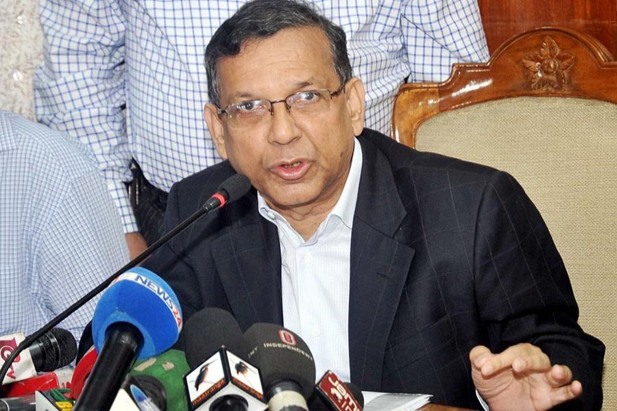 SC, EC to decide Khaleda's polls participation: Anisul