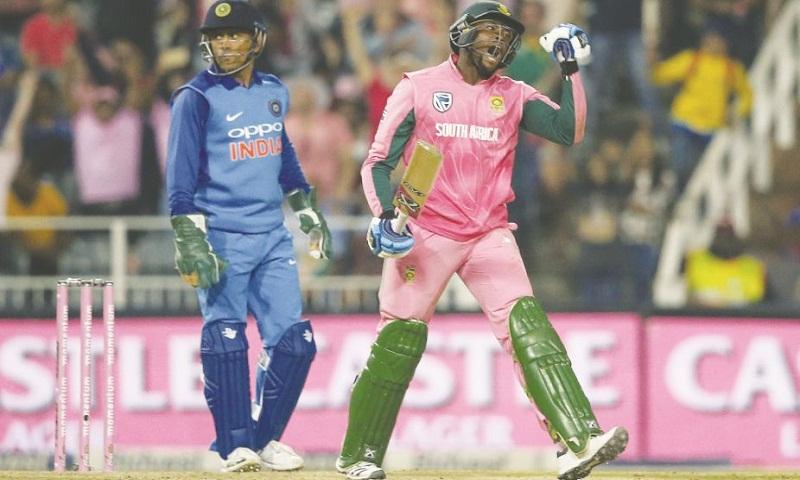 4th ODI: Proteas beat India in nail-biting finish