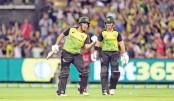 Australia hammer England to reach tri-series final