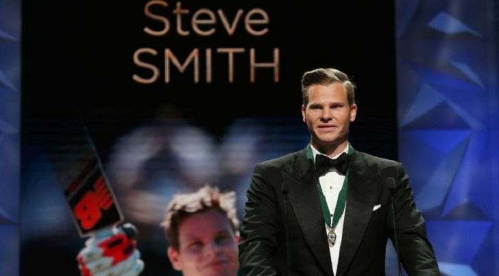 Aussie skipper Smith wins Australia's Border Medal