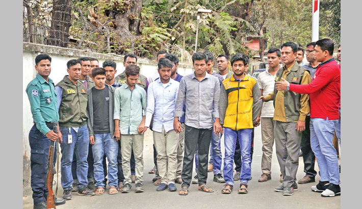 15 arrested over SSC question paper leak