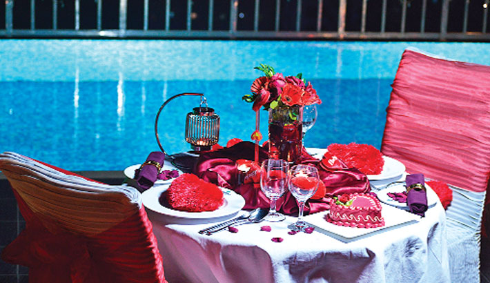 Valentine's Day Celebrations At Long Beach  Suites Dhaka