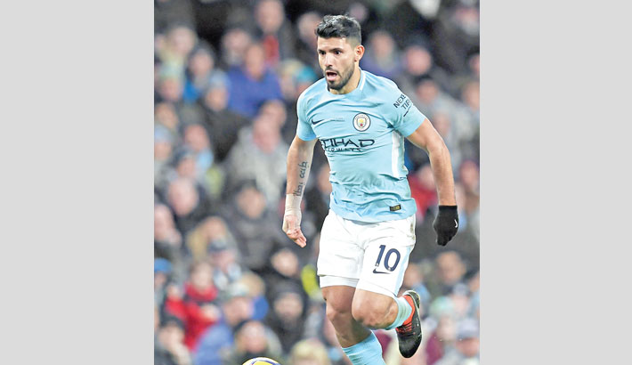 Aguero hits four for City, Kane haunts Arsenal again