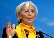 Global markets seeing 'necessary corrections': IMF chief