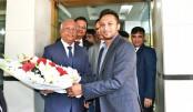 Shakib becomes  ACC goodwill  ambassador