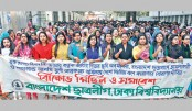 Awami League, takes out a procession on Dhaka University campus