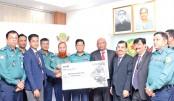UCB donates  to DMP