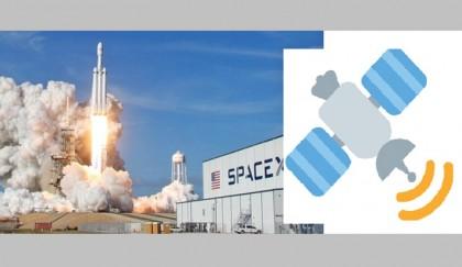 'Falcon Heavy' roars into space