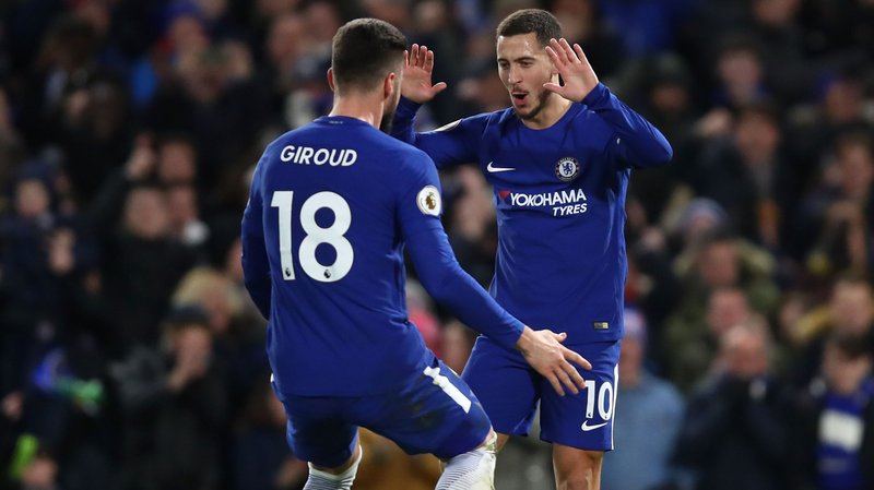 Eden Hazard's double helps Chelsea beat West Brom, eases pressure on Antonio Conte