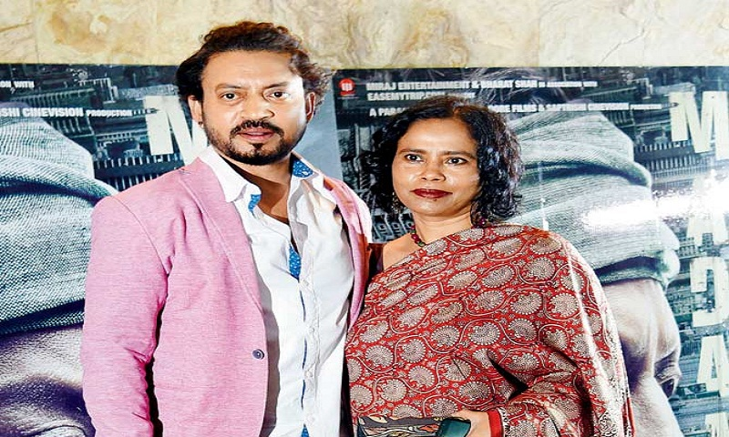 Irrfan Khan: My wife is my best friend