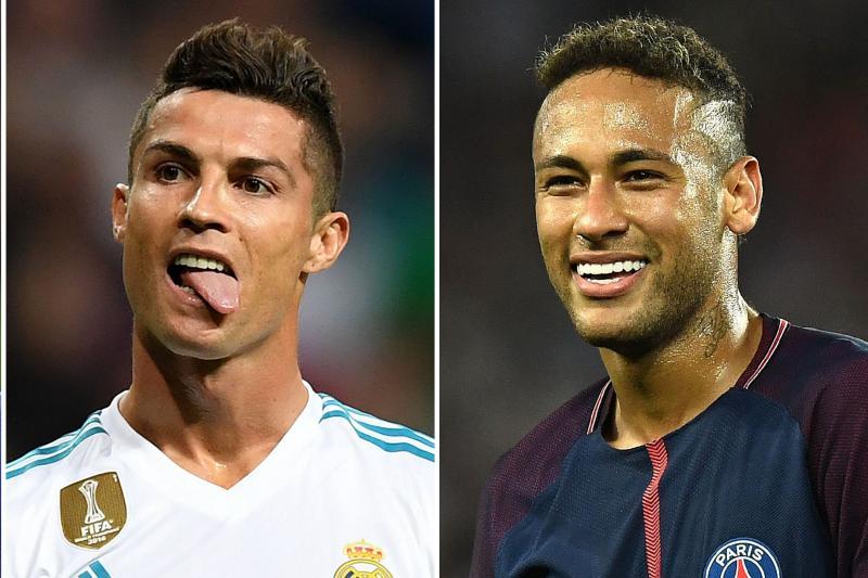 The master Ronaldo against the pretender Neymar