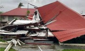 Tonga parliament building flattened by Cyclone Gita