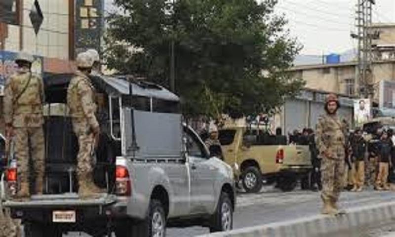Gunmen kill 4 paramilitary soldiers in southwest Pakistan