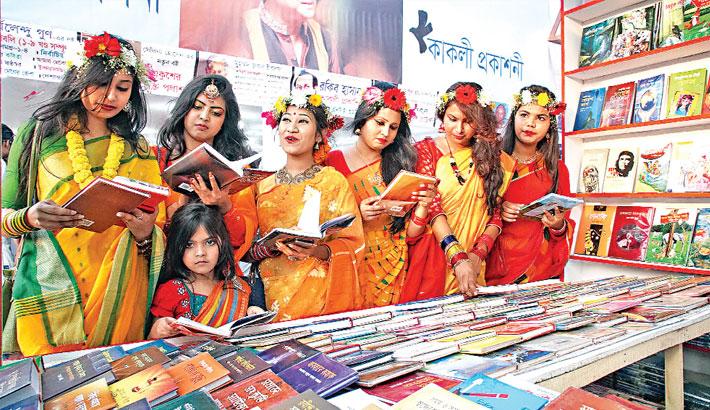 Spring brings more colour to Ekushey book fair