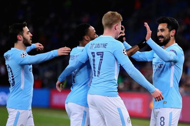 Gundogan shines as Manchester City run riot at Basel