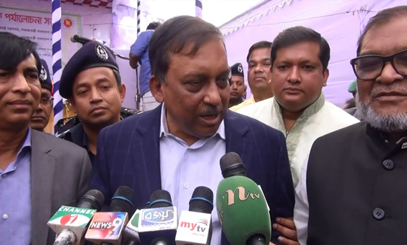 Khaleda Zia kept in new building, says Home Minister Asaduzzaman Khan