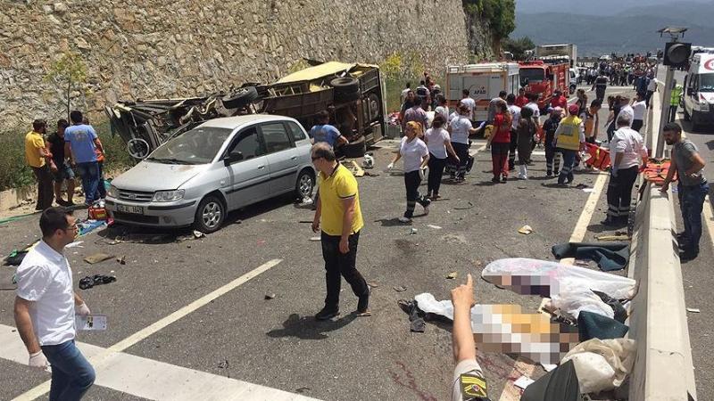 23 migrants killed in Libya road crash