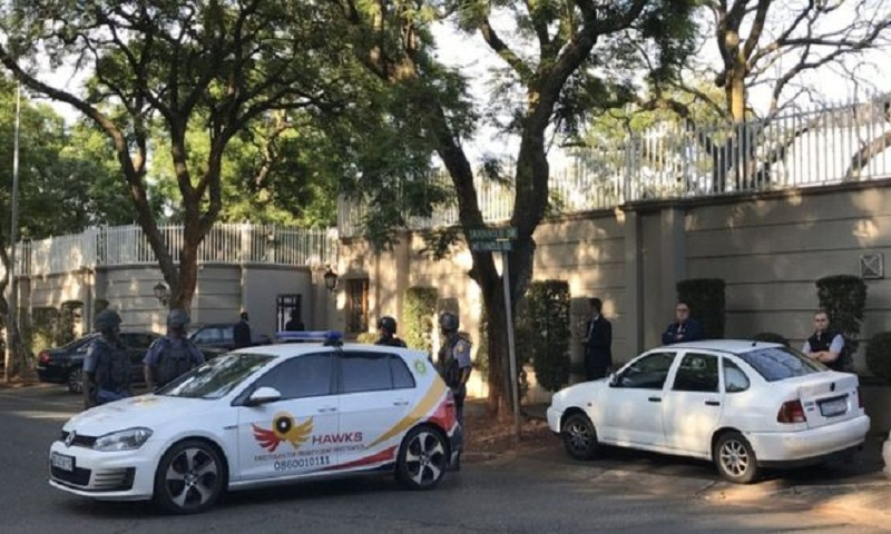 South Africa: Controversial Gupta family home raided by police